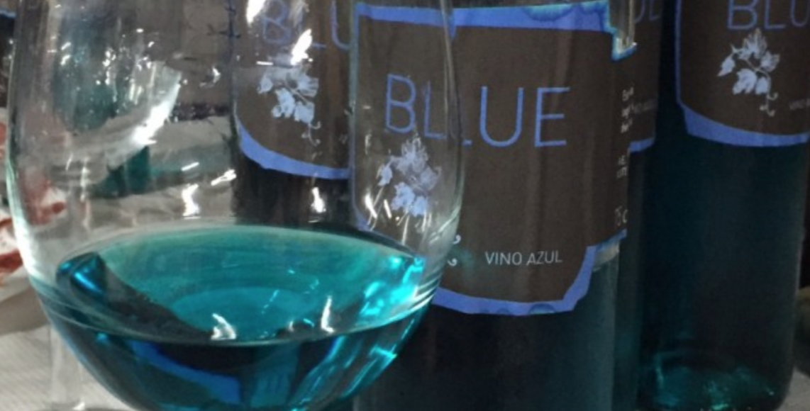 Blue Canary wine
