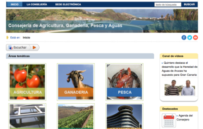 Web Agricultura Gob Can