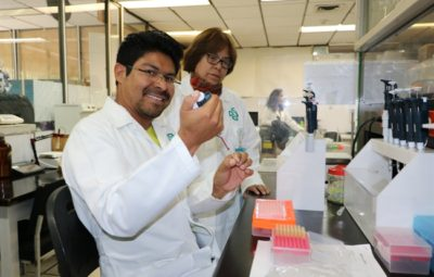 Researchers at the Center for Research and Advanced Studies in Mexico (Cinvestav)