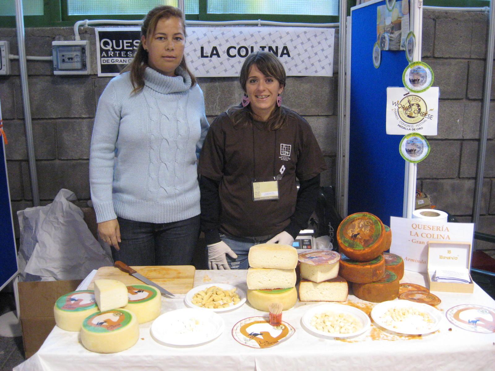 Rosa Godoy y Arminda Guerra