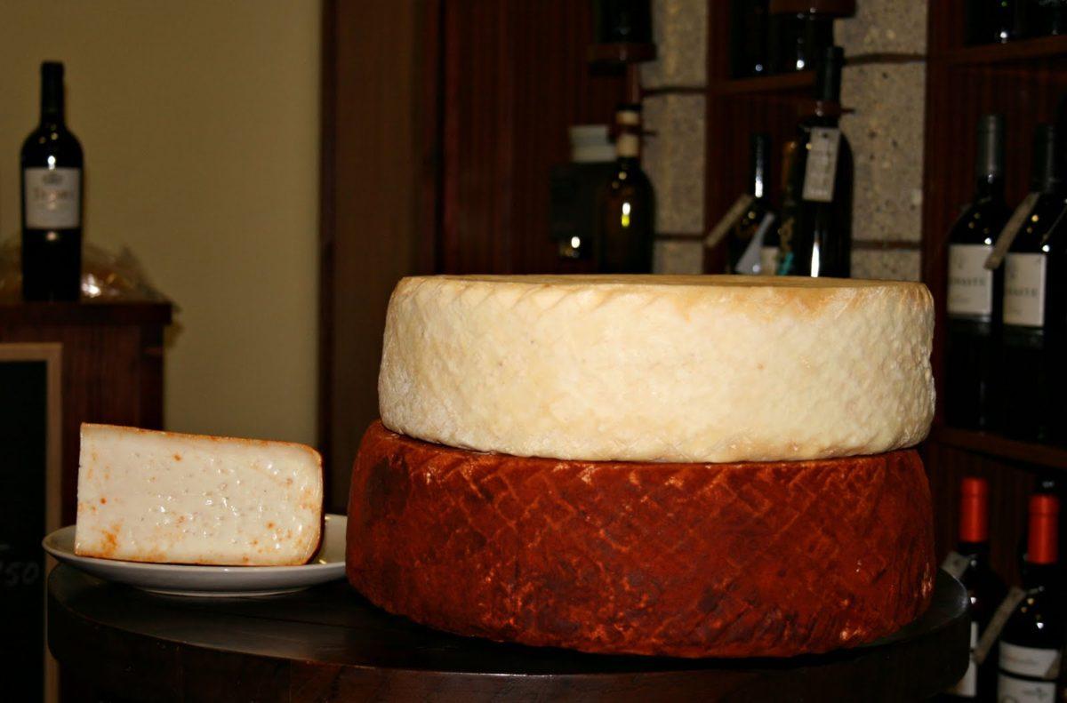 vinos y quesos de Canarias