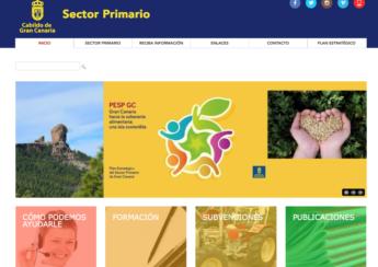 web soberanía alimentaria cabildo gran canaria