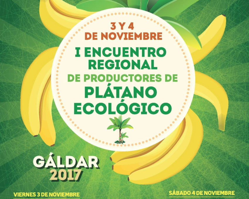 I Regional Meeting of Organic Banana Producers.